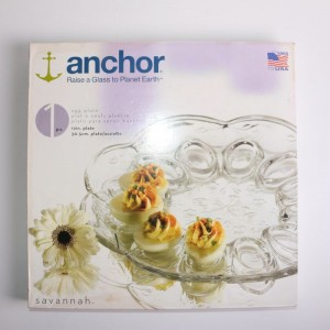 Anchor Savannah 12in Egg Plate