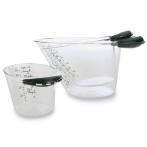 Pampered Chef Easy-Read Measuring Cup Set