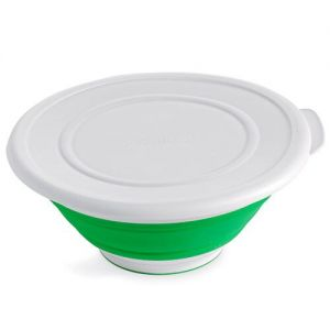 Pampered Chef Collapsible 2 Quart Serving Bowl With Lid