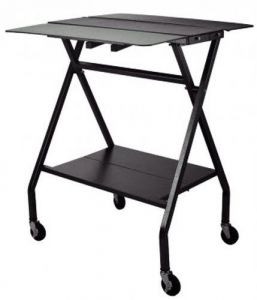 Mobile Folding Table For Clothing
