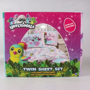 Hatchimals Super Soft Microfiber Twin Sheet Set Pink