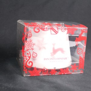 Reindeer Candle Topper Red And White