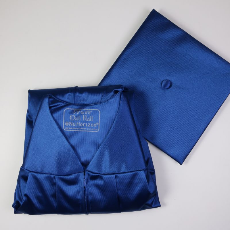 Oakhall Nu Horizon Royal Blue Cap And Gown