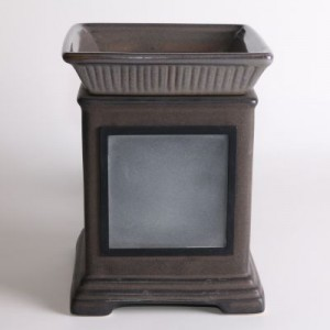 Scentsy Gallery Collection Warmer Charcoal
