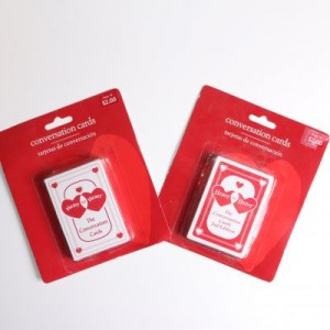 Heart To Heart Conversation Card 1st and 2nd Edition Deck Set