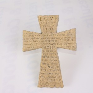 Avon Inspirational Scripture Wall Cross
