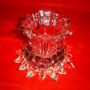 PartyLite Crystal Clear Candle Holder